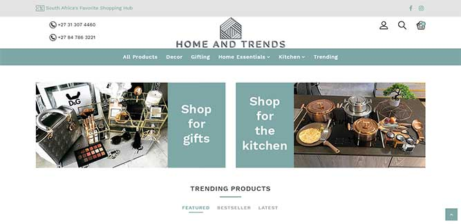 Home and Trends